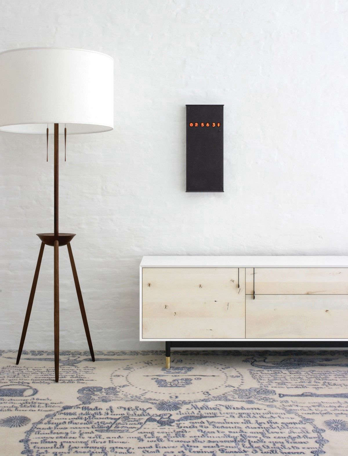 High Low Wood Tripod Floor Lamp Remodelista