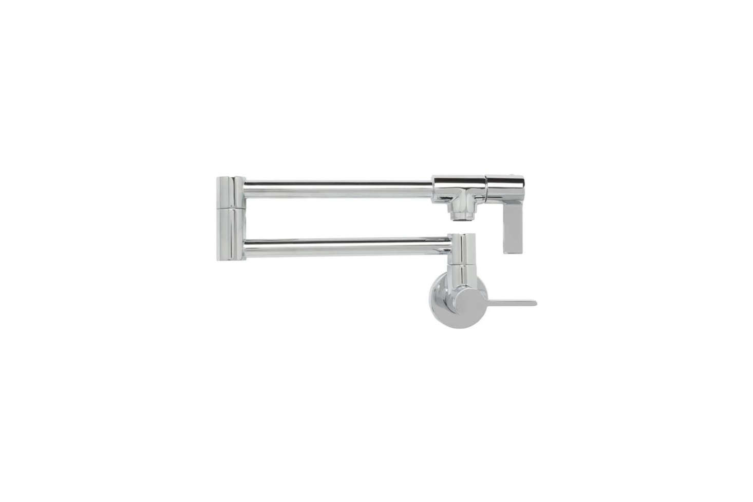 The Franke Ambient Pot Filler Faucet comes in three finishes for $464.40 at Quality Bath.