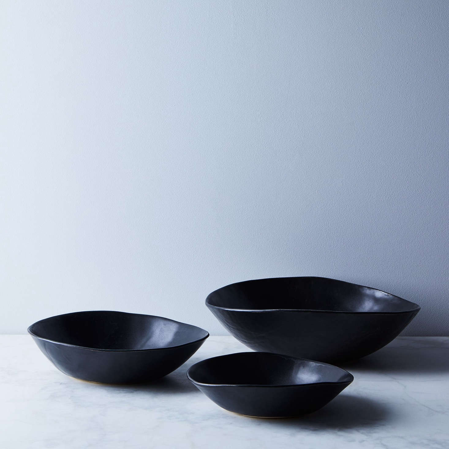 Ceramicist Julie Hadley hand-makes and glazes each bowl herself. Her Wabi Sabi Nesting Bowls come in black and cream; $5 at Food5