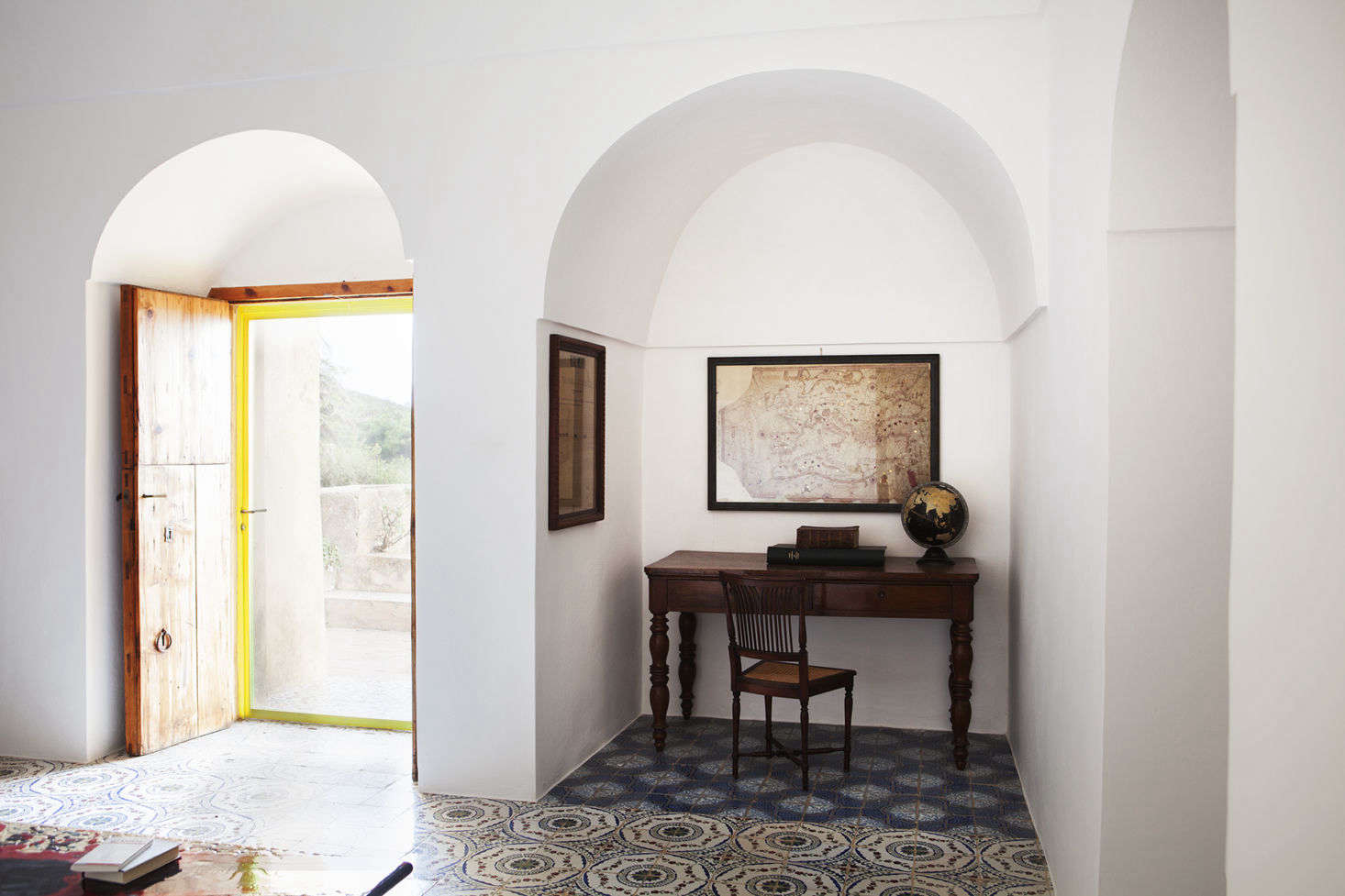Pantelleria is geographically closer to Tunisia than to Italy, and it shows in the dominant architecture and interior style on the island.