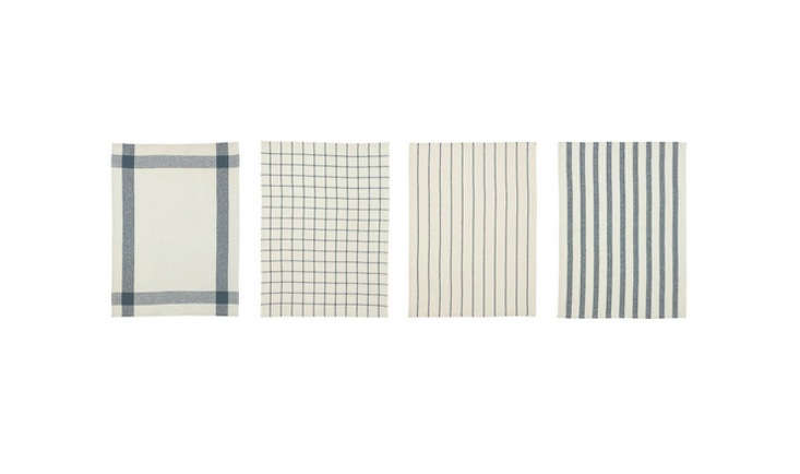 Perennial Remodelista favorites, the Elly Dish Towels at Ikea are $3.99 for a pack of 4.