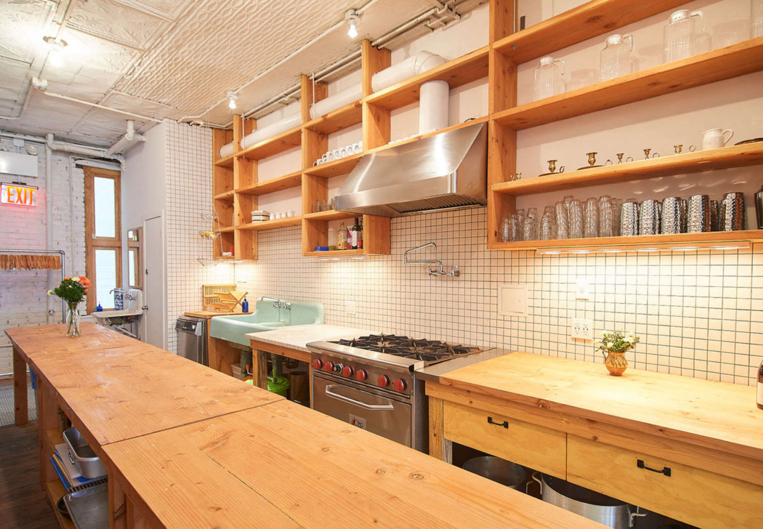 Kitchen Of The Week A Clandestine Private Dining Loft In