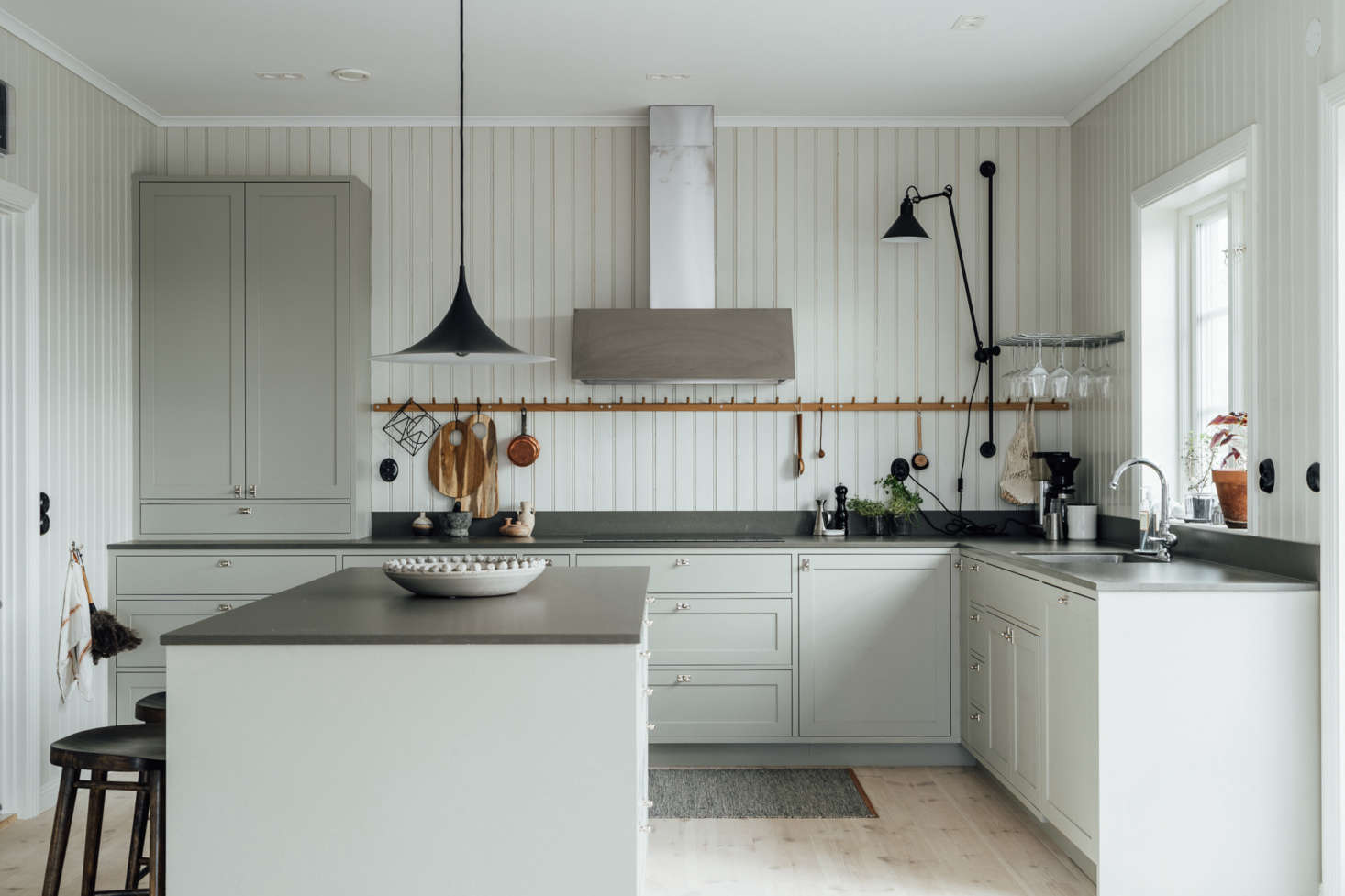 Kitchen of the Week: Country Chic in Sweden, Minimalist Edition