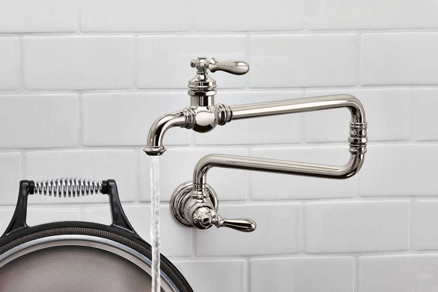 10 Top Traditional Pot Filler Faucets For The Kitchen Remodel