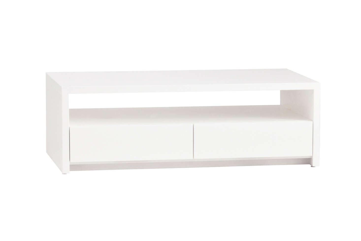From Urban Green Furniture in Brooklyn, the Thompson Cocktail Table, shown in White, is $839.