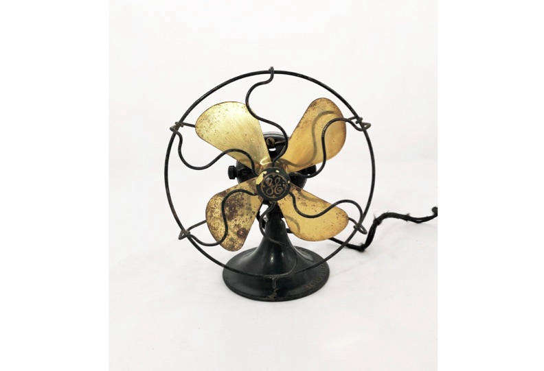 We found this 1920s GE Electric Fan with Brass Blades on Etsy for $275.