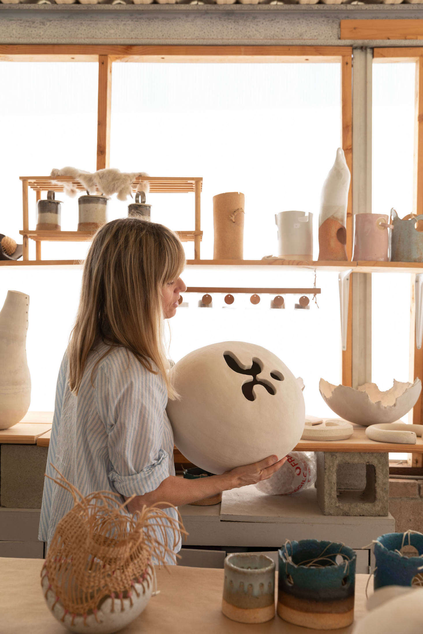 Wilkinson's pieces are available for purchase on her TWWorkshop website.