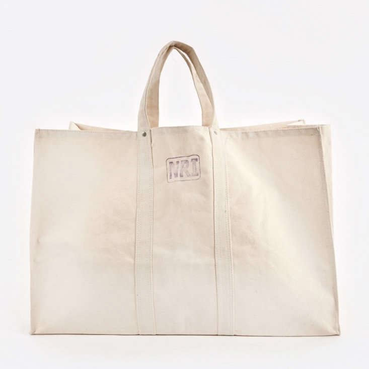 The Puebco Labour Canvas Tote Bag is $49.40 at Goodhood Store.