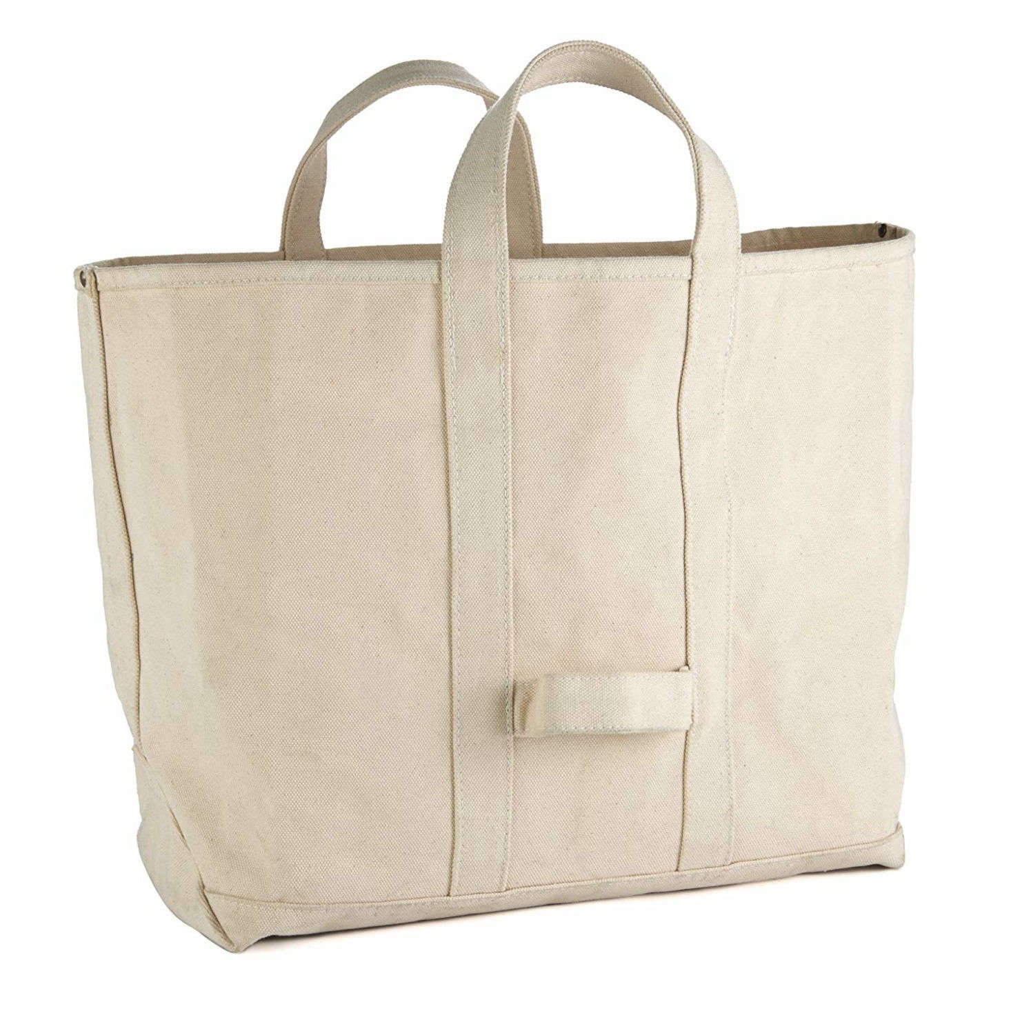 We found this basic, rugged Heavy Duty Canvas Tote Coal Bag on Amazon for just $49.99.