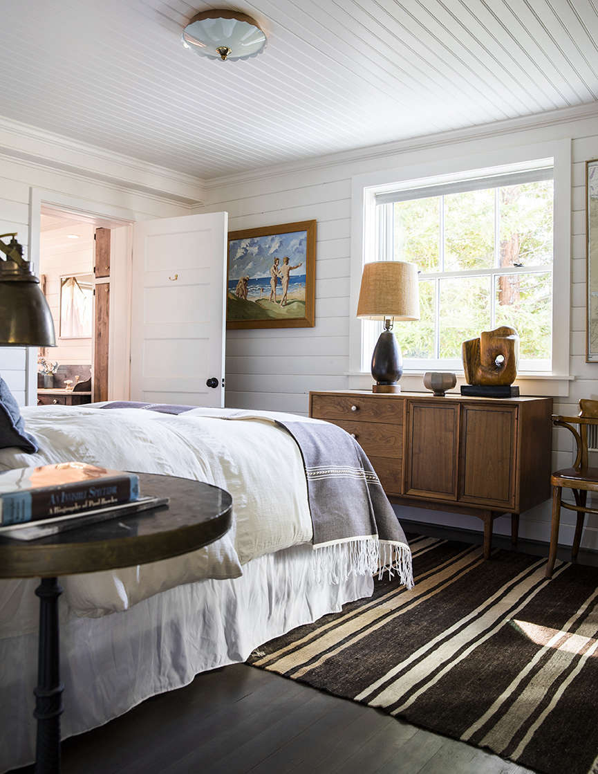 The master bedroom with an ensuite bath. The home&#8