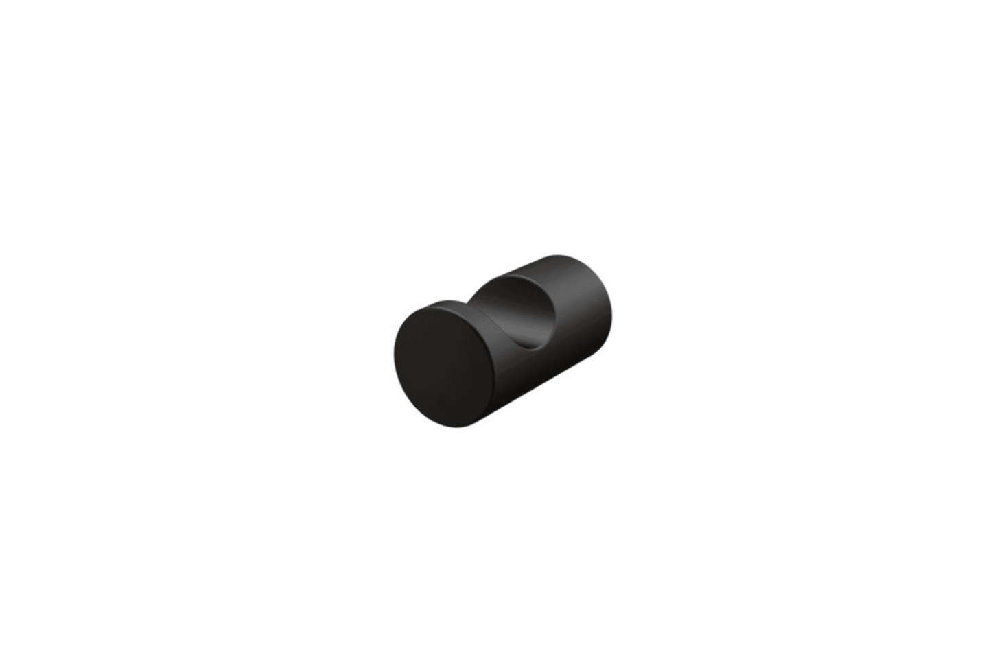 The Moen Wall Hook, shown in Matte Black, is $25.54 at Build.com.