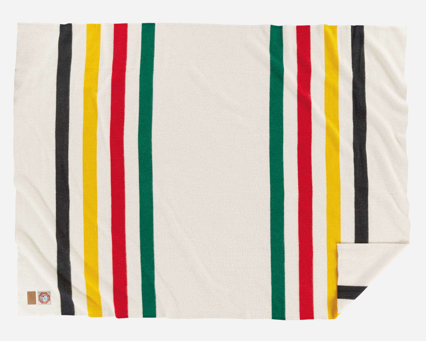 Pendleton's Glacier National Park Blanket starts at $179 for the throw size at Backcountry.