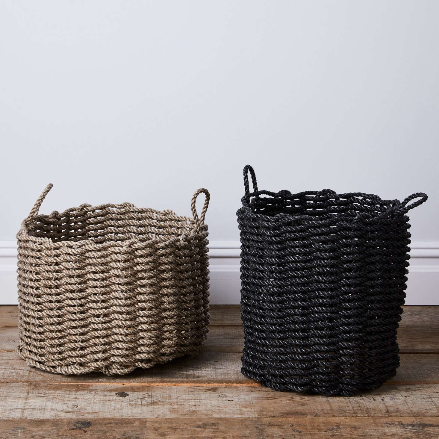 Made in Maine: Rugged Baskets and Doormats Woven From Nautical Rope