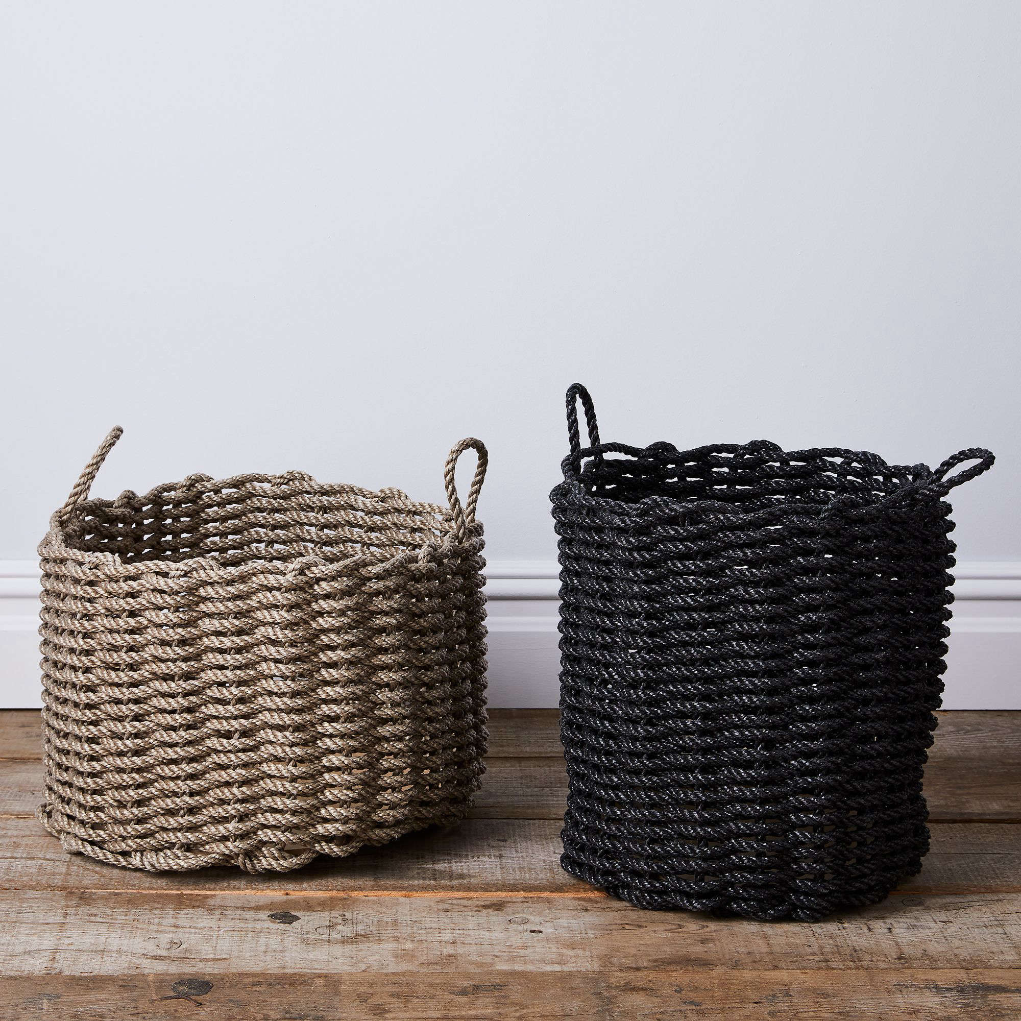 Made In Maine Rugged Baskets And Doormats Woven From