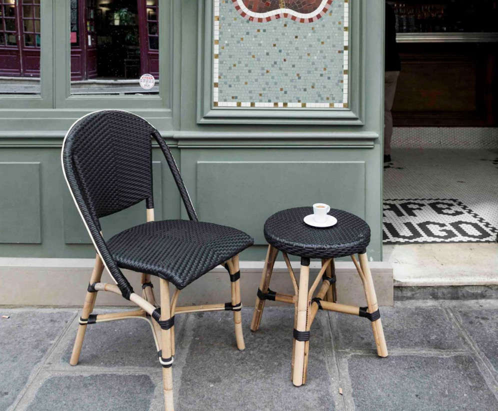 Awe Inspiring 10 Easy Pieces French Rattan Bistro Chairs Download Free Architecture Designs Intelgarnamadebymaigaardcom