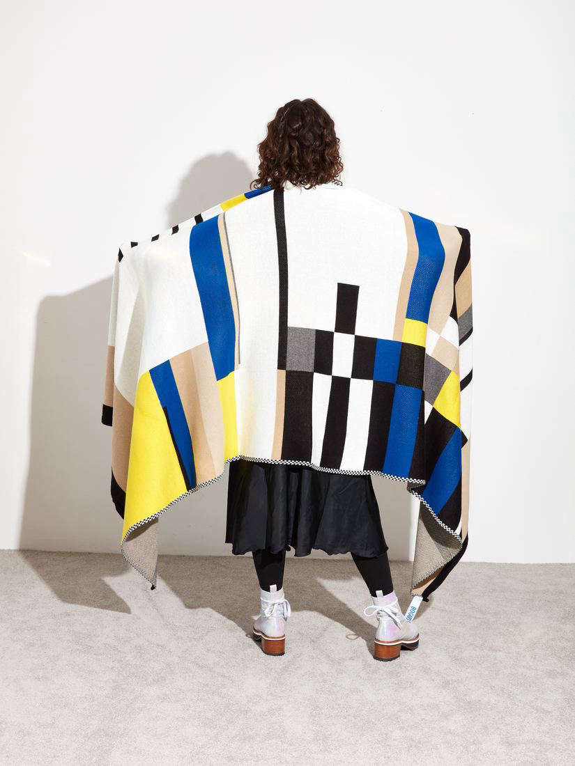 This Throw Blanket was designed forHotel Esencia by Bogus Studio, a furniture and textile brand created by Valentin in collaboration with Alexander Diaz-Andersson. It&#8