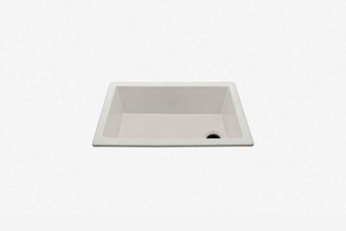 The Waterworks Clayburn Fireclay Bar Sink with End Drain is $9 at Waterworks.