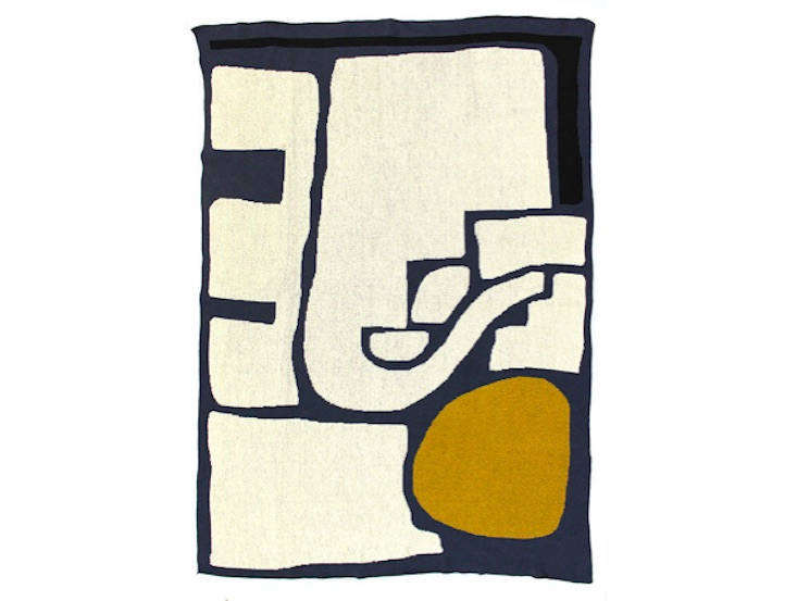 The nine-year-old brand Cold Picnic arguably brought the trend to the masses. Their  Shipwrecked Knit Blanket is $0.