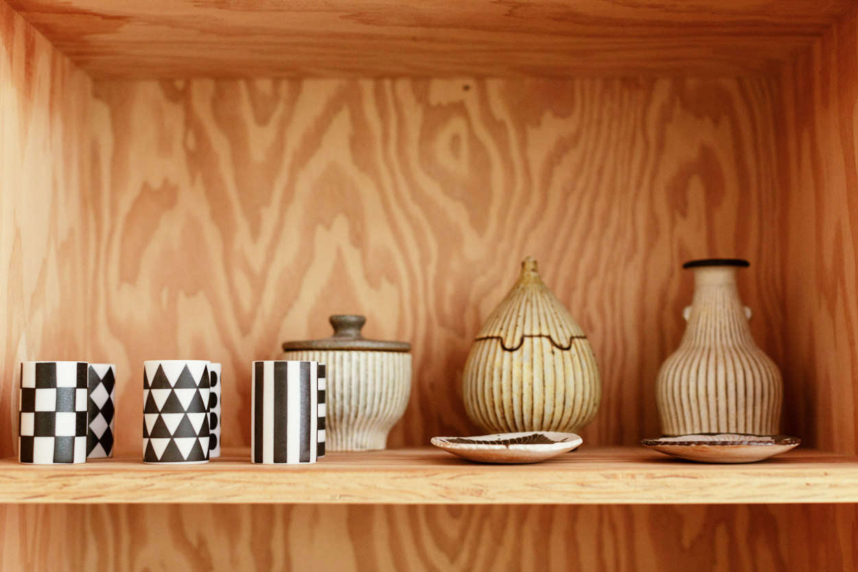 Of the choice of plywood, Yanai says, &#8