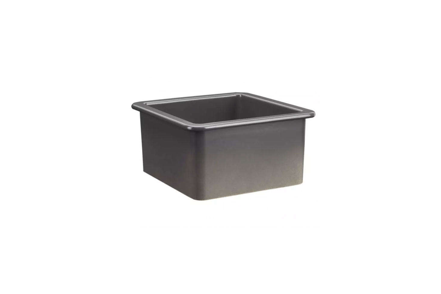 From Signature Hardware, the Derin  Inch Square Undermount Fireclay Prep Sink in Dark Gray starts at $5. It&#8