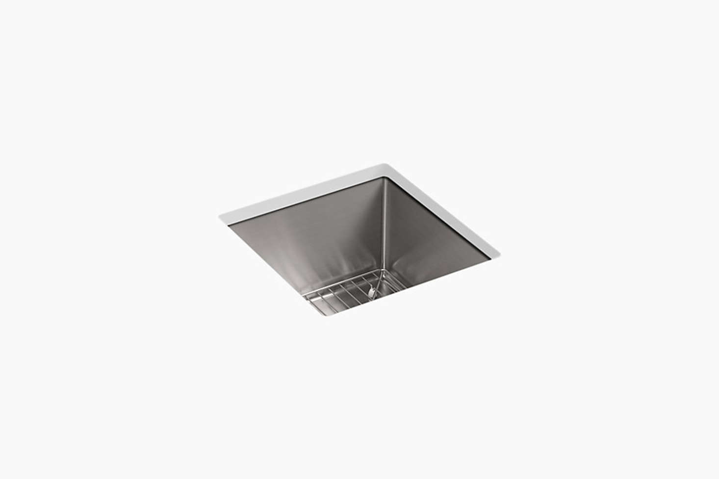 The Kohler Strive Under-Mount Bar Sink with Sink Rack (K-57-NA) is $659 at Kohler.