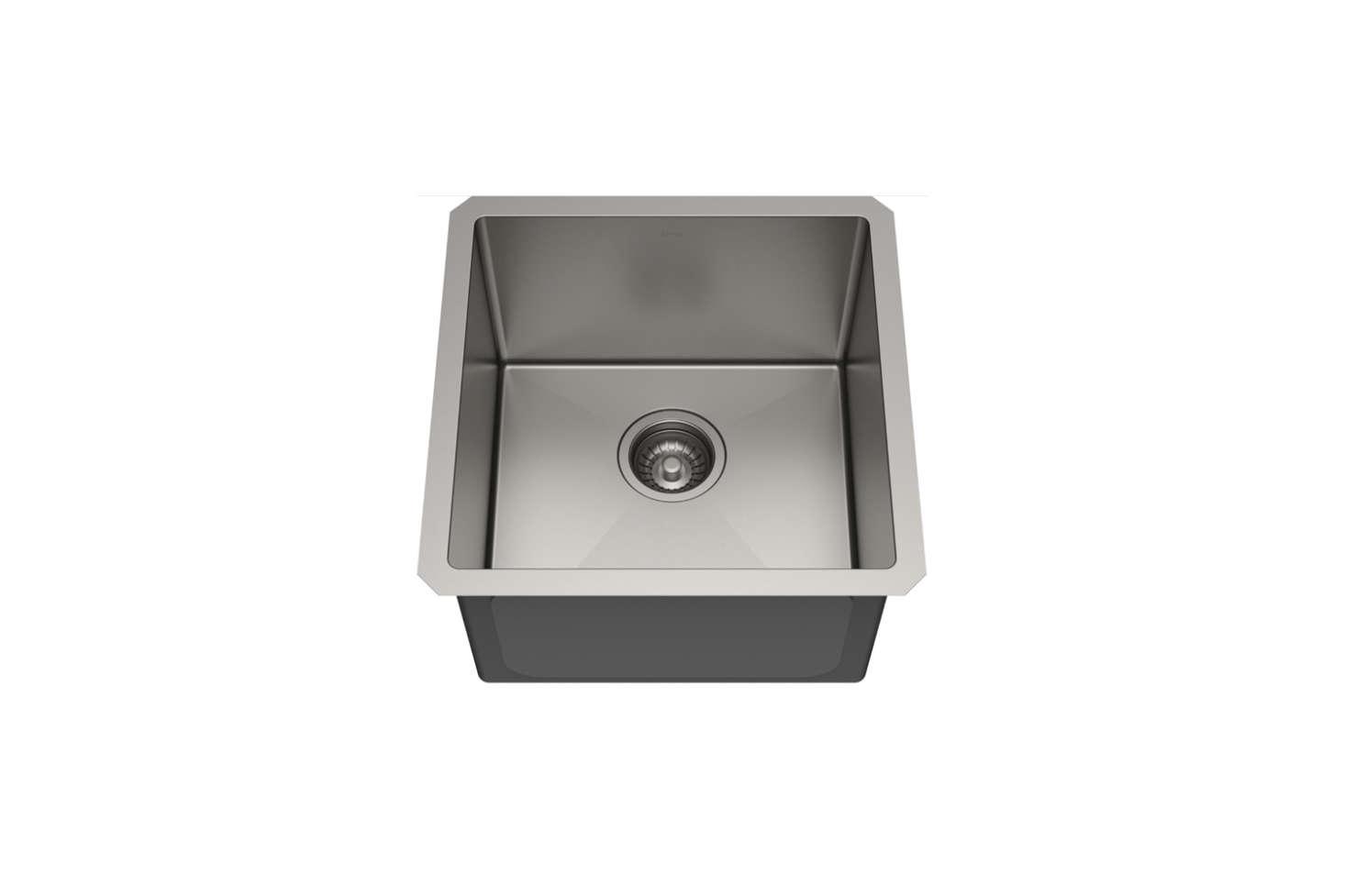 The Kraus Stanart Pro Series  Inch Undermount Stainless Steel Bar Sink (KHUsrc=