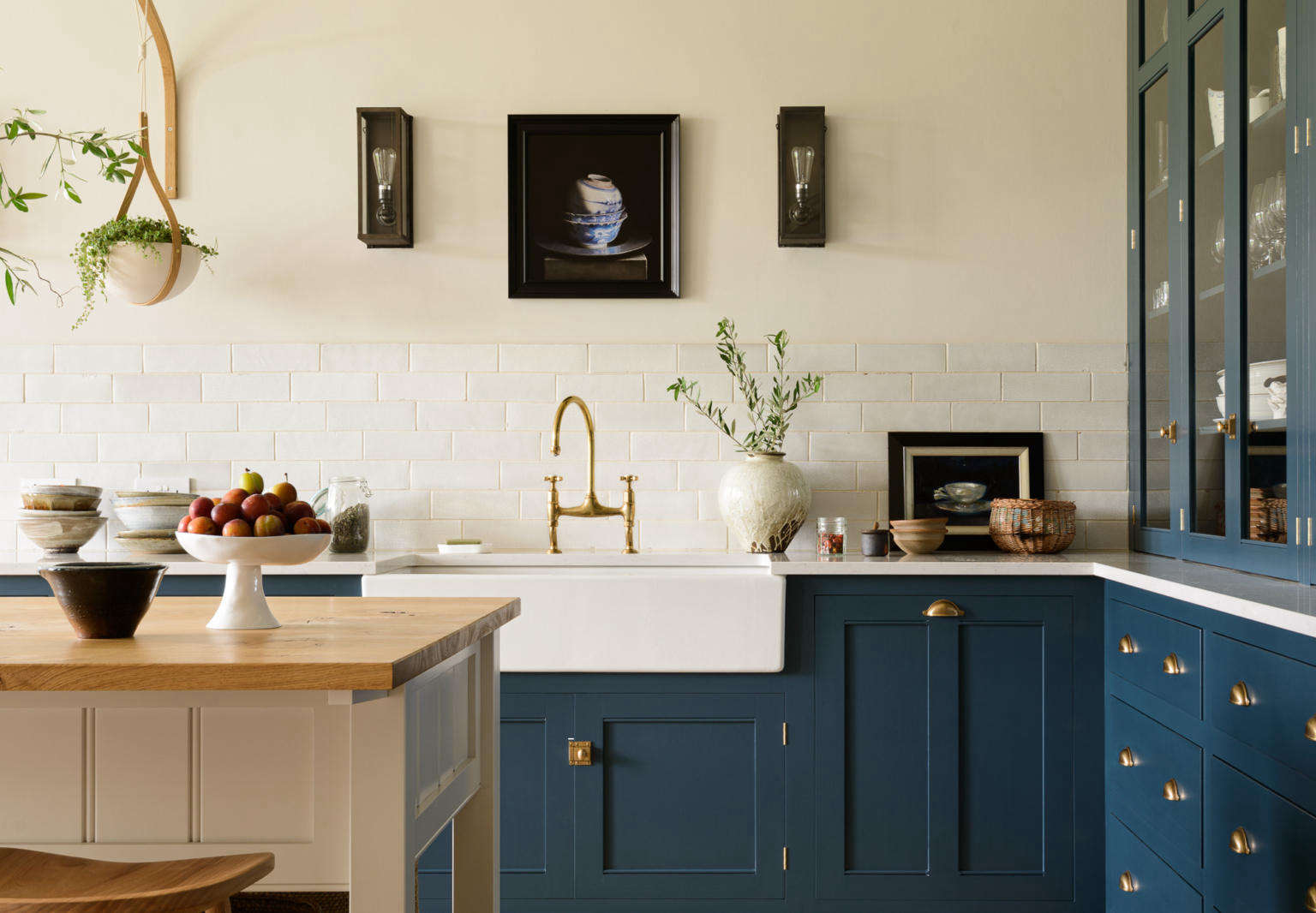 Kitchen of the Week: An Imposing English Manor, Updated for ...