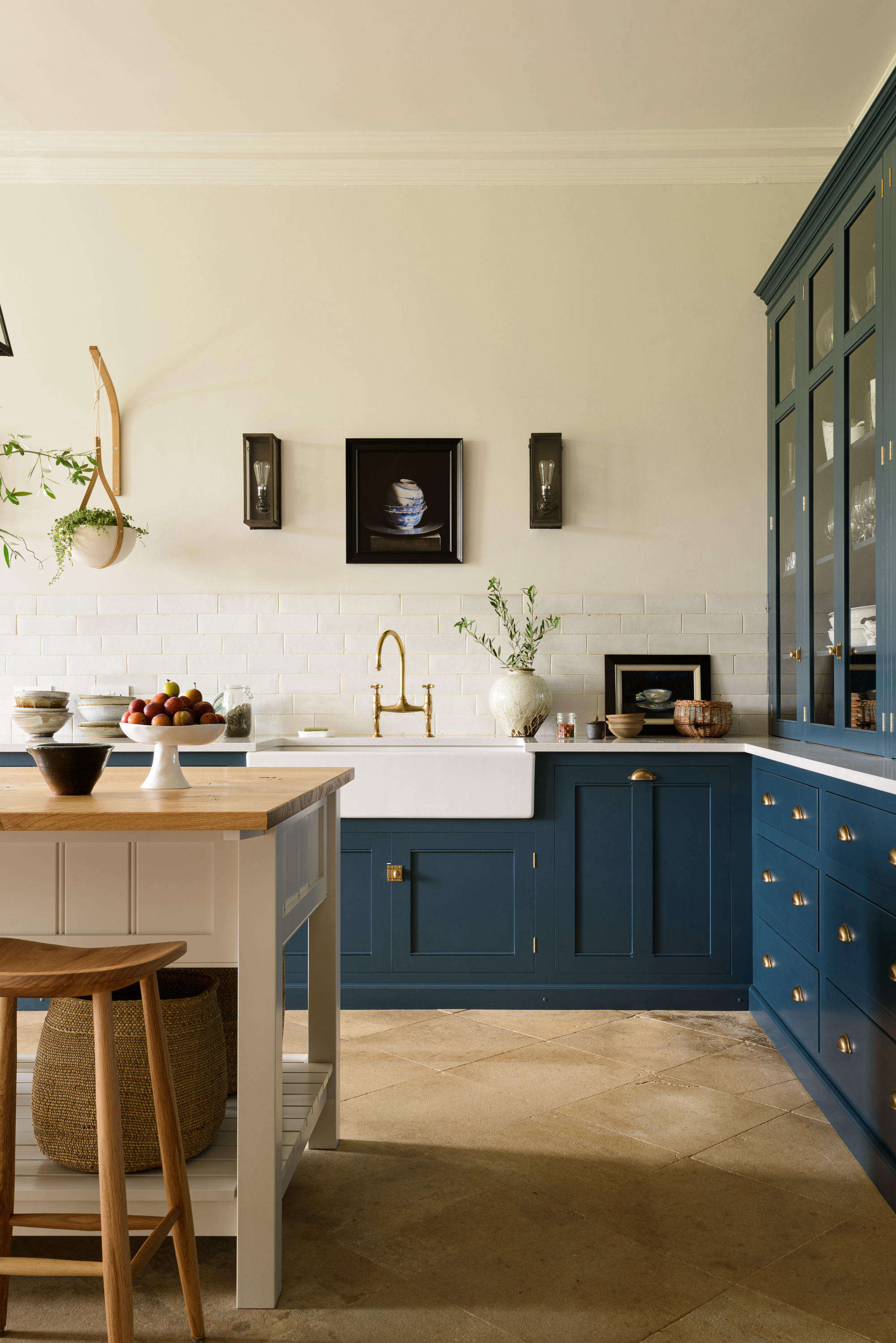 Kitchen of the Week: An Imposing English Manor, Updated for Modern Family Life - Remodelista