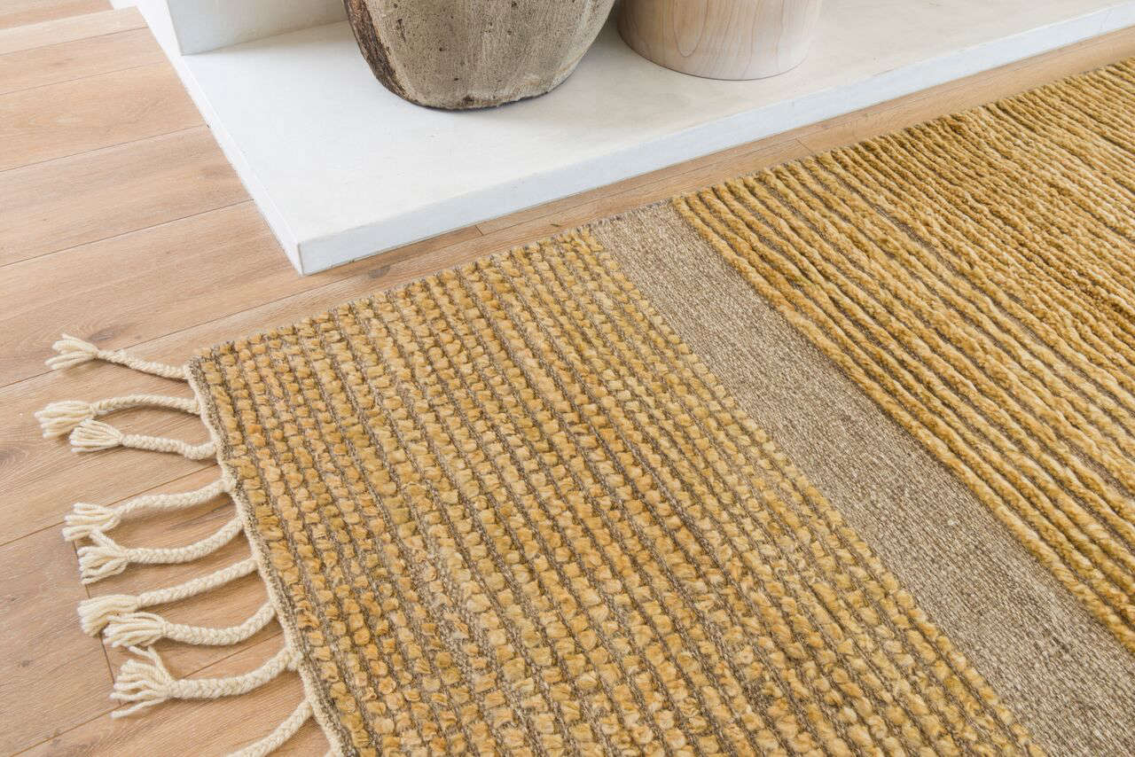 Golden State: The Needlegrass Rug Collection by DISC Interiors