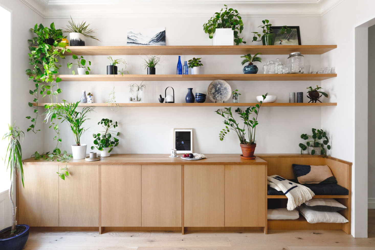 The owners wanted to incorporate a lot of storage—while still maintaining &#8