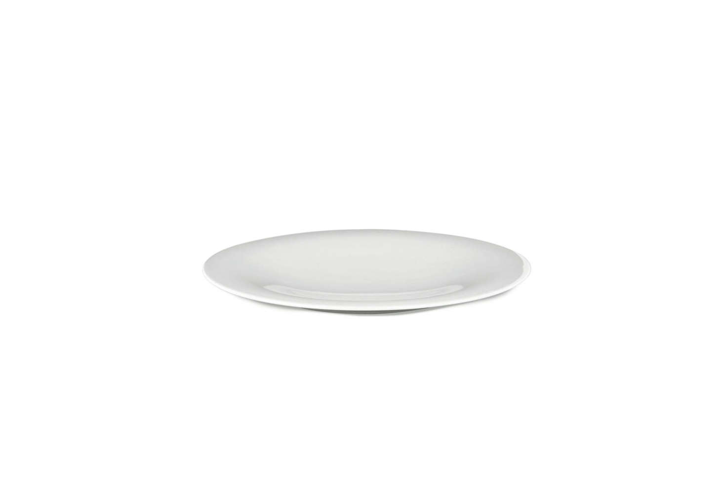 Japanese architect and winner of the 2013 Pritzker Prize Toyo Ito designed the Ku Dinnerware collection for Alessi. The bright white porcelain dinnerware has a smooth polished surface and gentle curved shape. Each piece is sold individually ranging from $11 to $150 at Alessi.