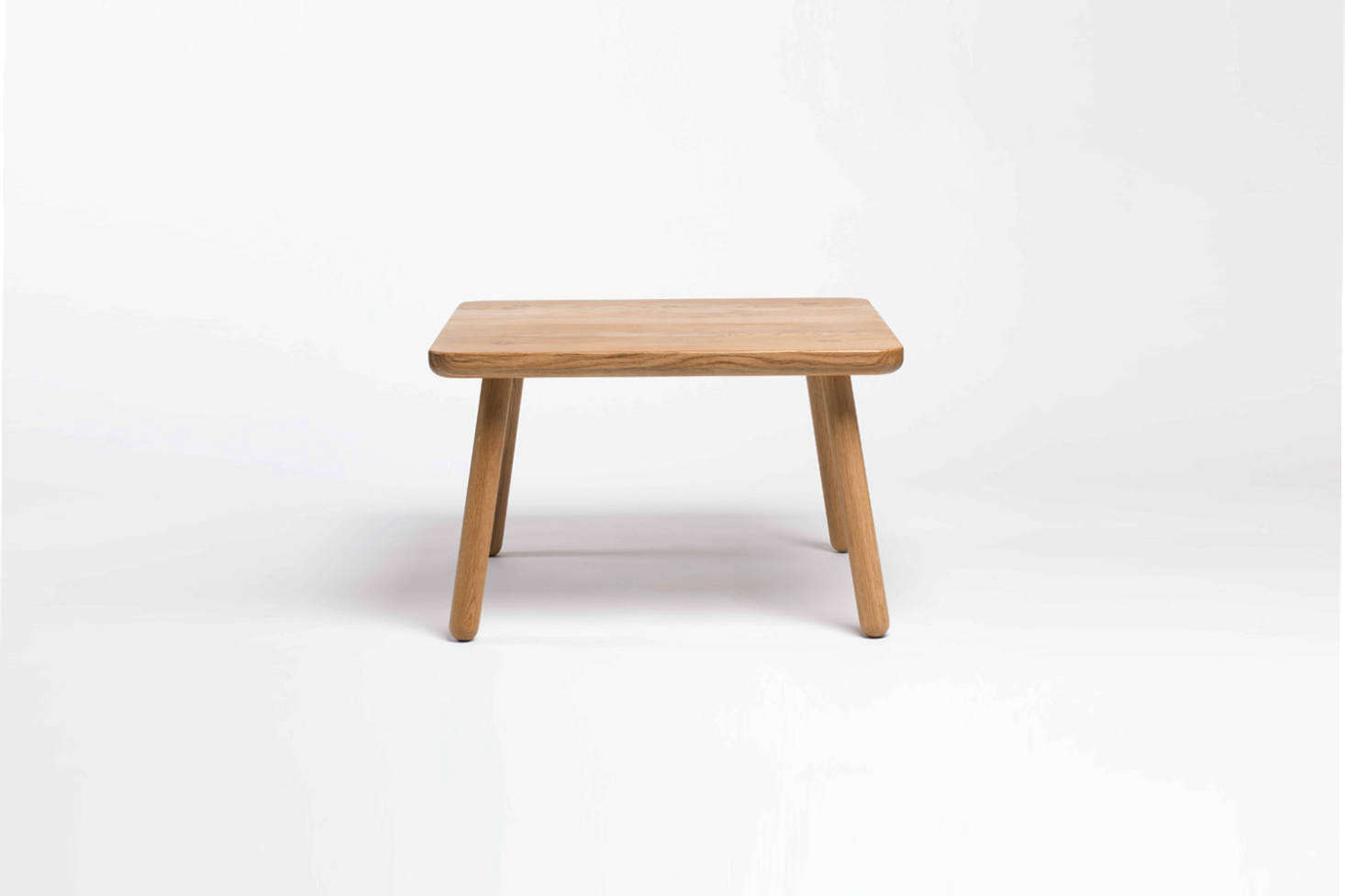The petit-sized Coffee Table One Square comes in natural oak and black ash is £4src=