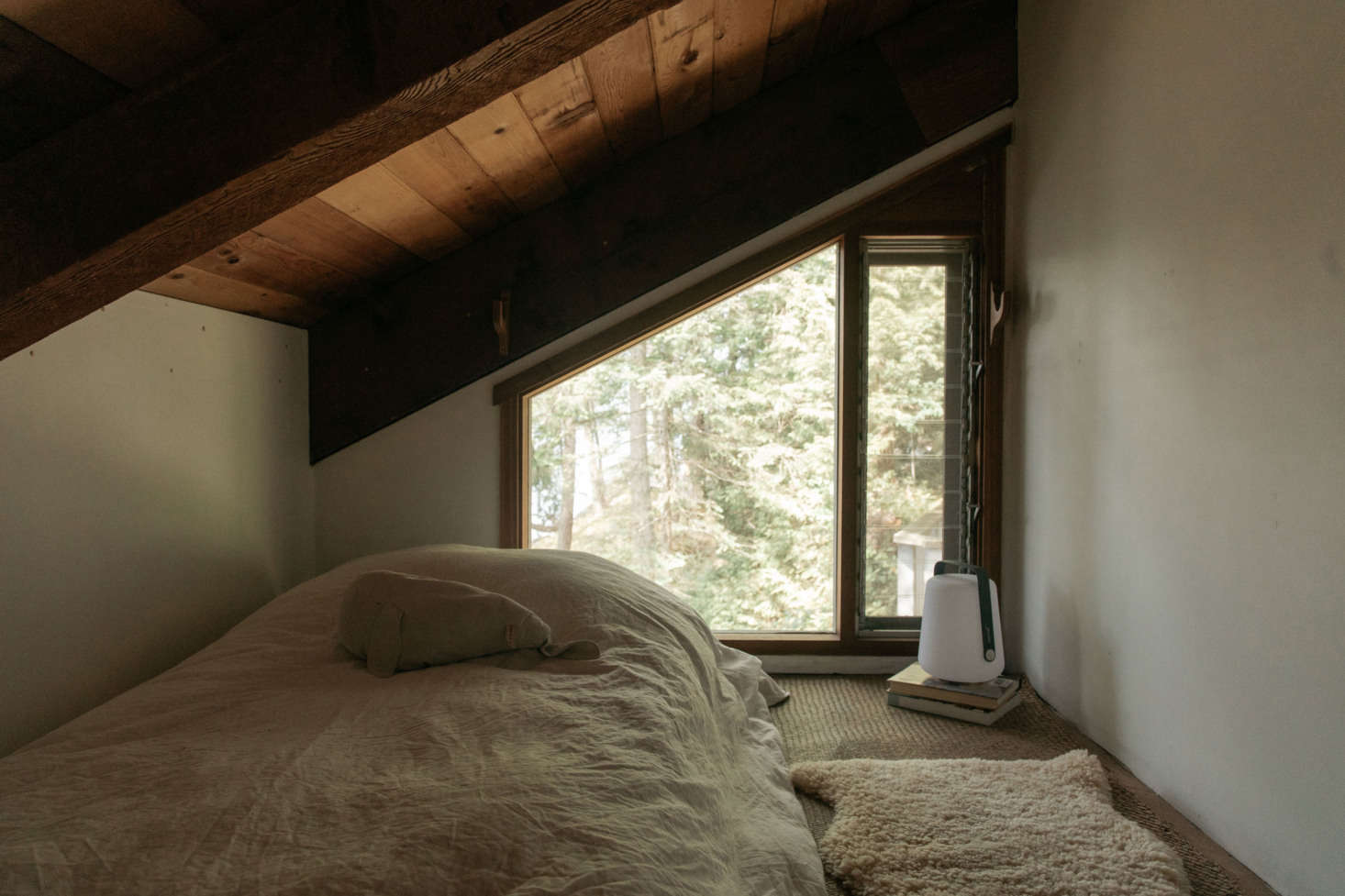 The simple sleep loft.