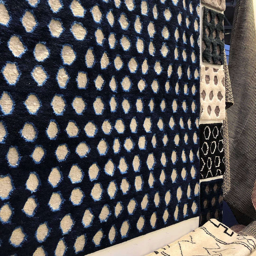 A new-to-us rug collection from Chuf Chuf Chuftalofeatures graphic artisan-made rugs; we especially like the Neelwa line, handmade in Afghanistan.