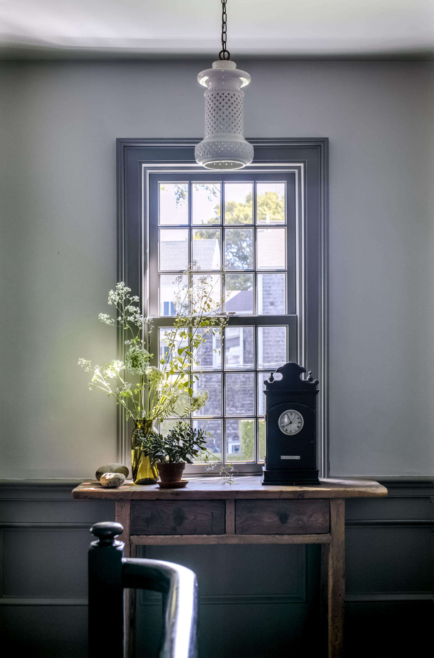 The glass vase is from John Derian&#8
