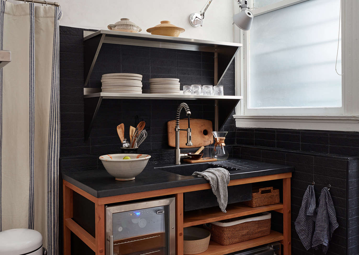 Steal This Look: A Small, Chic Kitchenette for a Creative Studio in SF