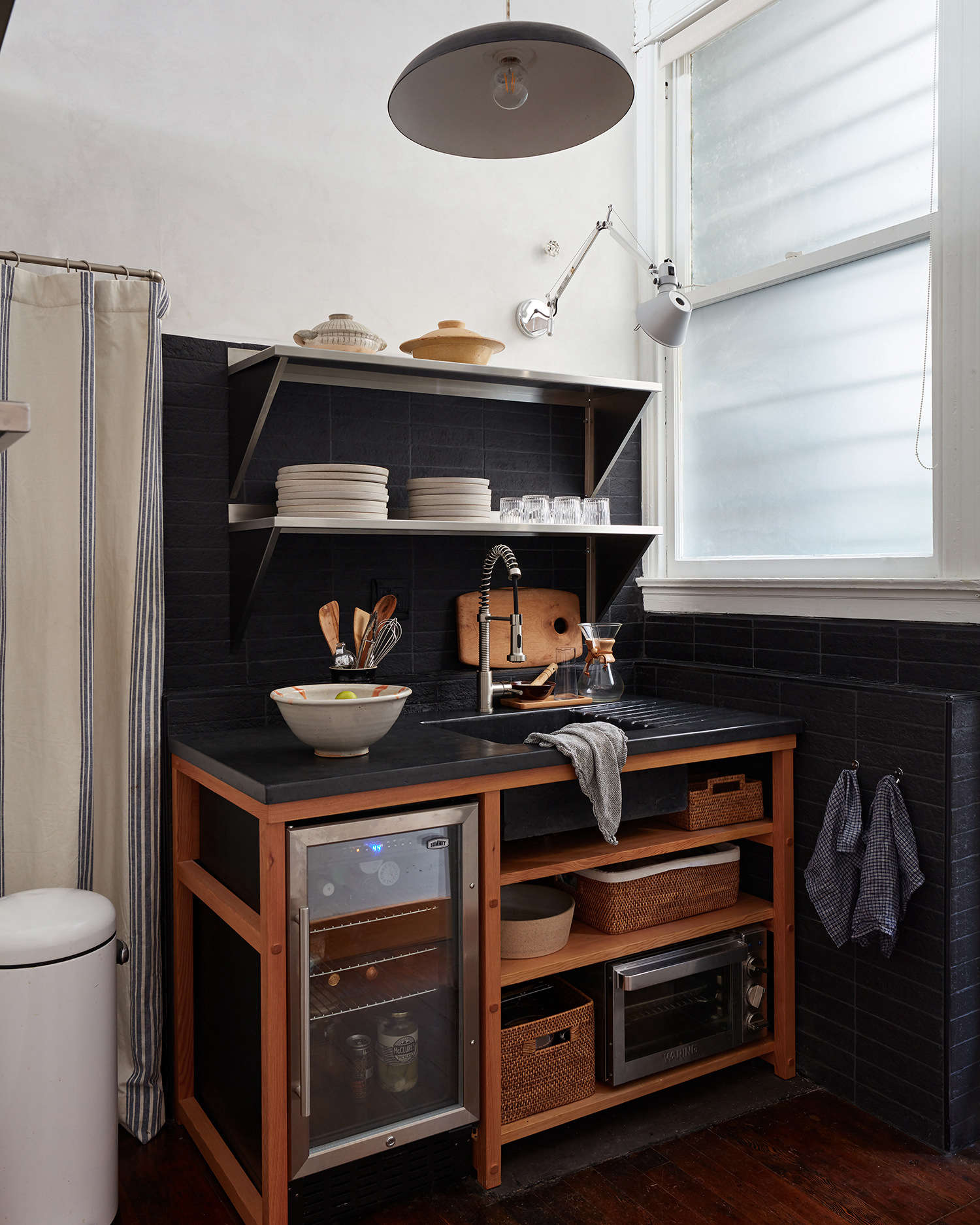 Steal This Look: A Small, Chic Kitchenette for a Creative Studio in SF - Remodelista