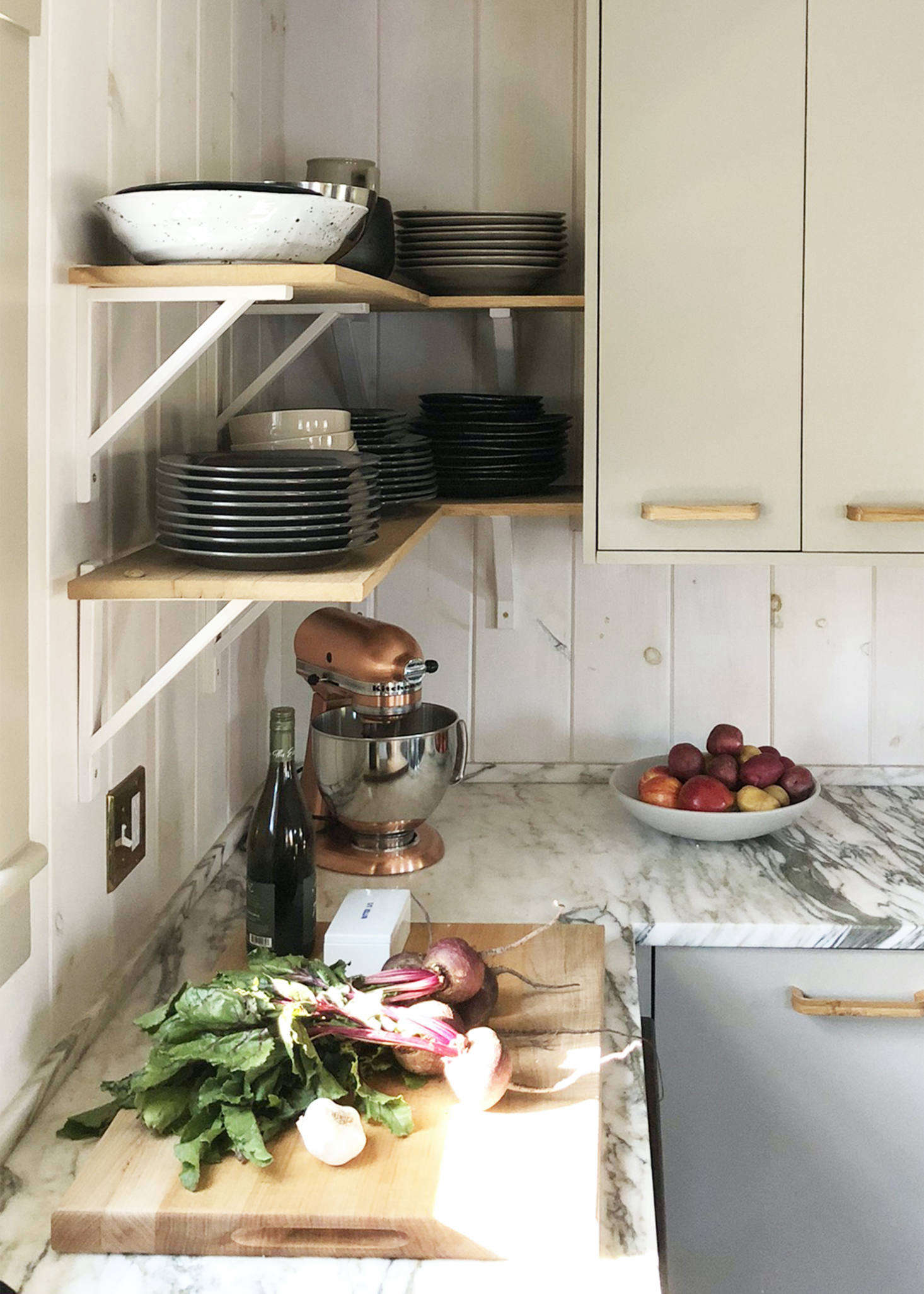 Ikea kitchen upgrade: a cost-conscious modern country ...