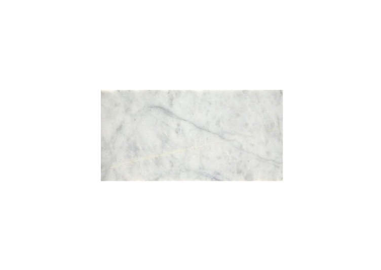 The Calacatta Honed Marble tiles on the walls and floors are from Mandarin Stone; £.55 for each -inch square tile.