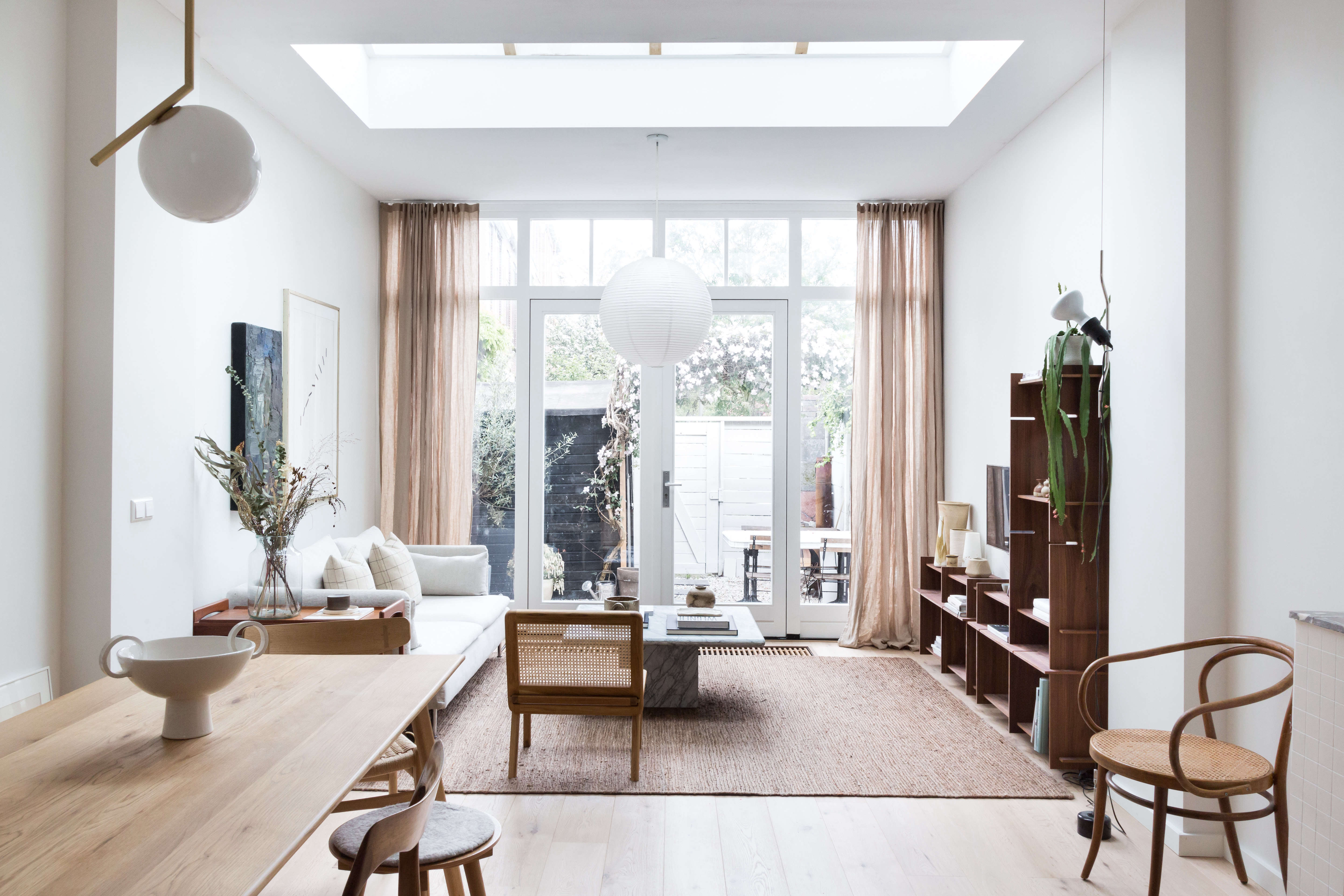 Steal This Look: An Interior Designer's High/Low Scandi Living Room, Ikea Sofa included - Remodelista