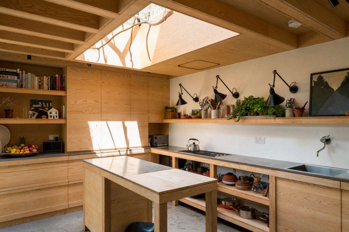 Kitchen of the Week: A London Architect's Sky-Lit Compact Kitchen - Remodelista