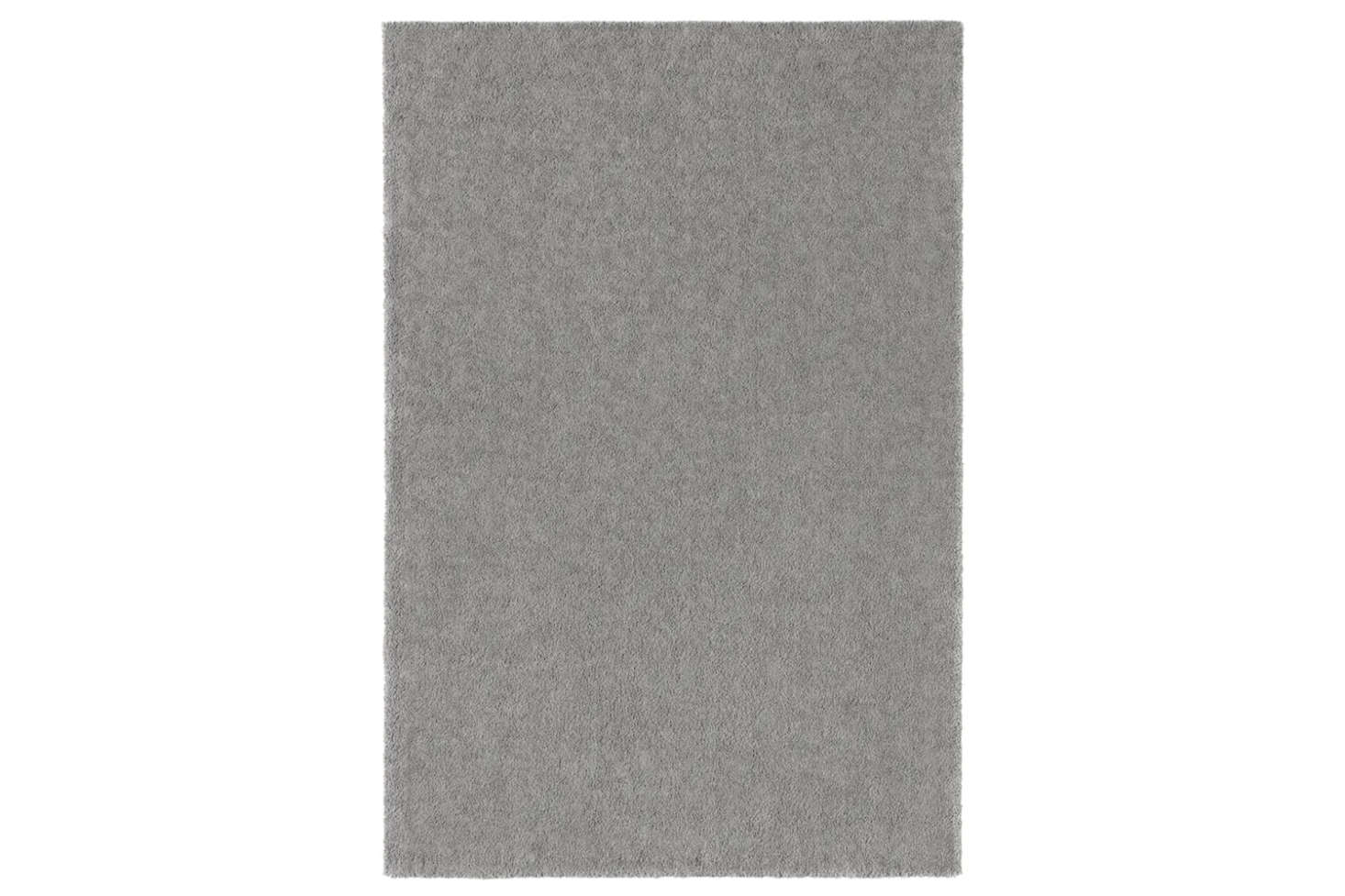 The Stoense Low Pile Rug in Medium Grey, size 6&#8