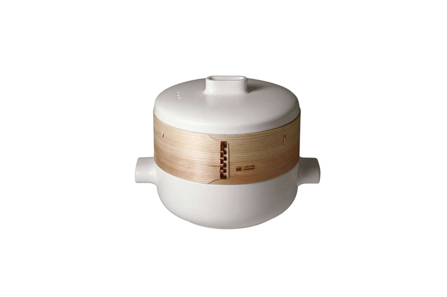 The JIA Steamer Pot and Basket Set is designed with a terracotta-bottom bamboo basket for absorbing excess moisture and fireproof ceramic; $9 at Horne.