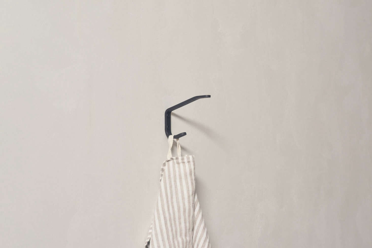 The line also includes hardware, including this oxidized stainless steel Double Hook; $.