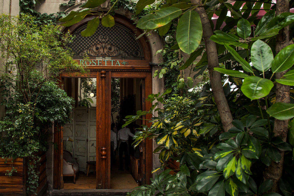 The restaurant is located in a colonial-era mansion in Mexico City&#8