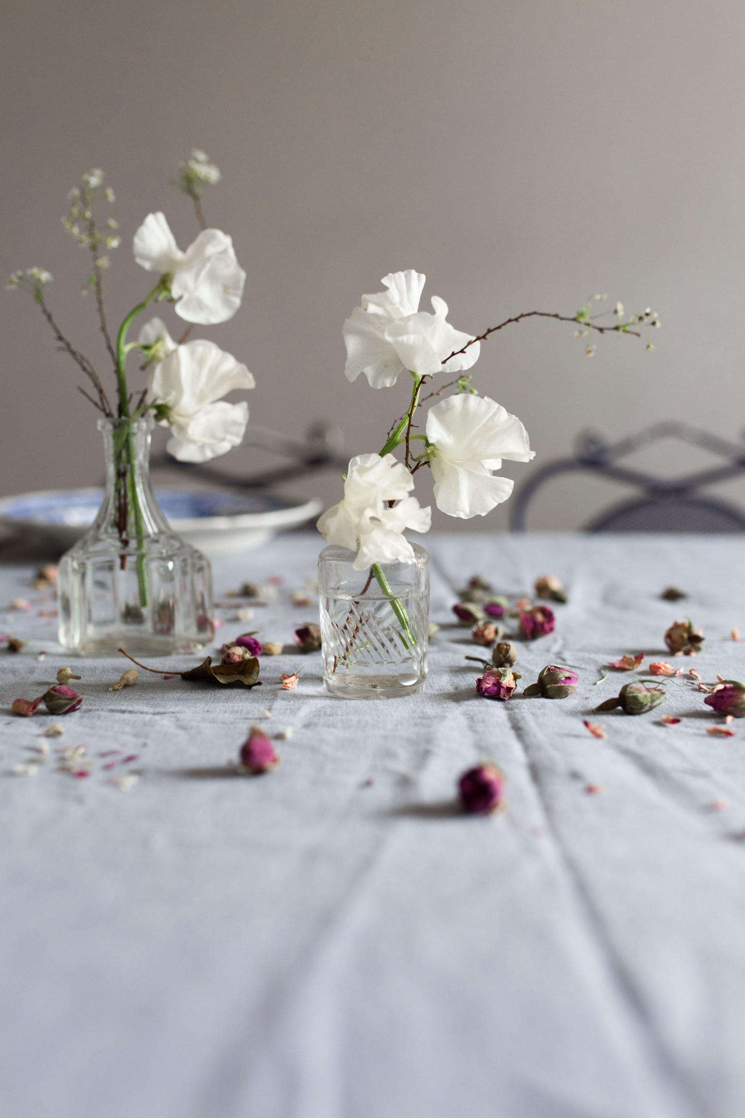 Let the table be a little beautifully imperfect, not prim or overdone. &#8