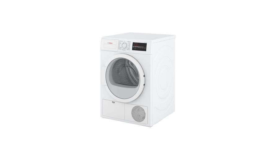 The Bosch 300 Series Compact Condensation Dryer and Washer are each $src=