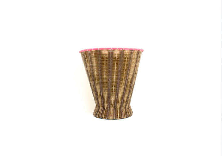 The Paper Baskets, shown here in chocolate and cream, are about src=