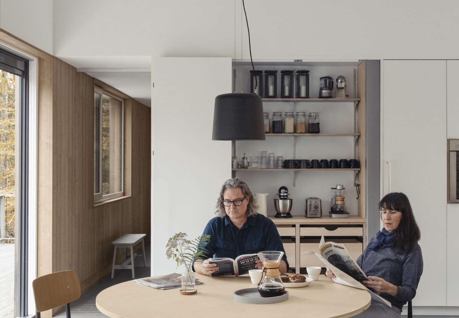Ein Passivhaus-Entwurf in den Catskills von IdS/R Architecture