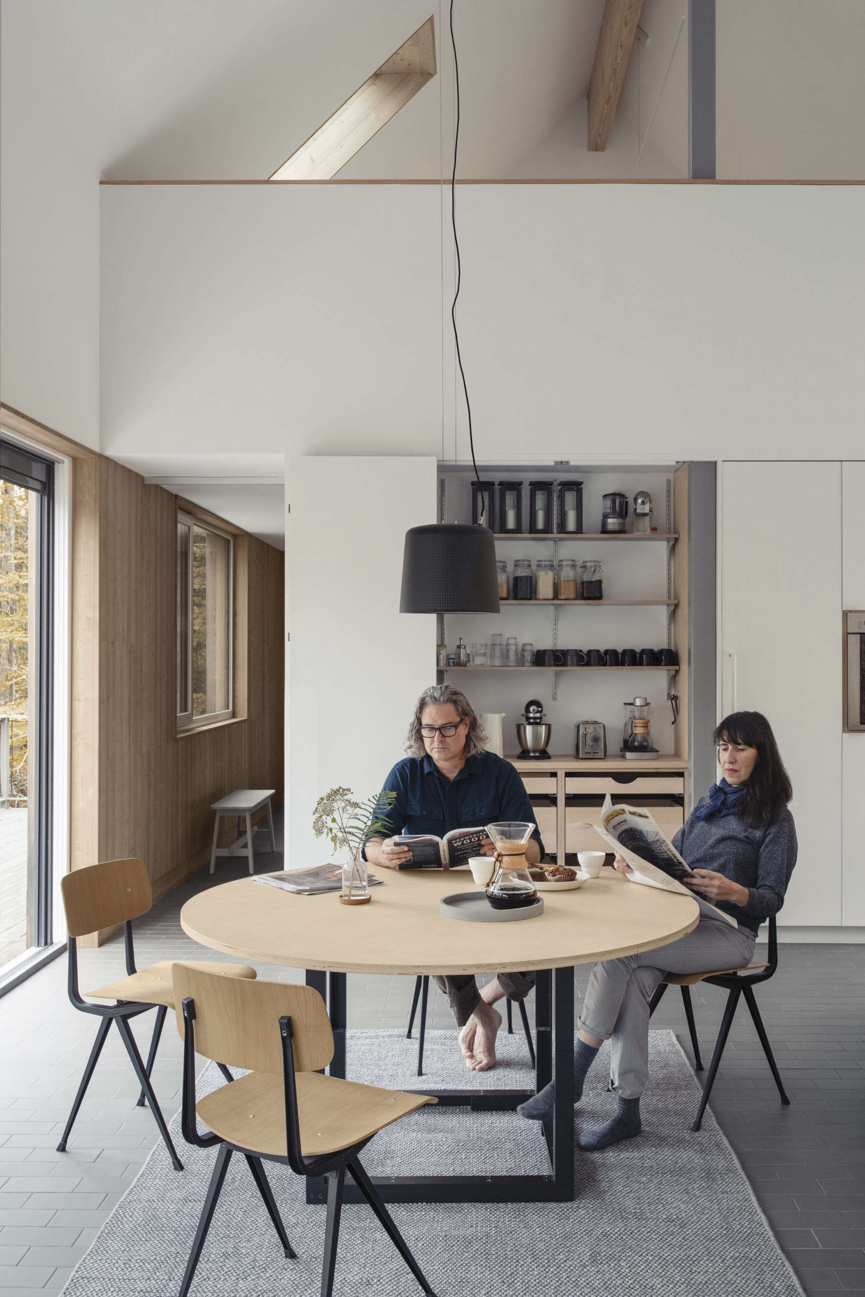 Todd and Maria designed and built their kitchen table: it&#8
